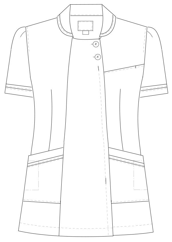 CF-4832 フロントスタイルイラスト