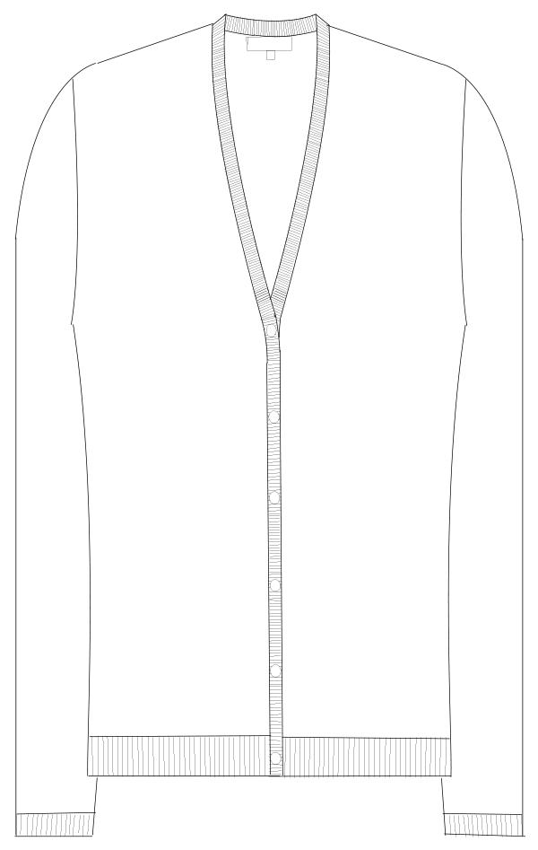 CH-2100 フロントスタイルイラスト