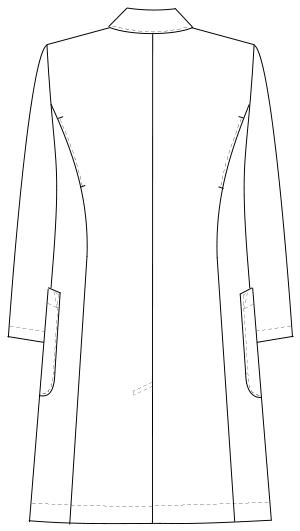 DK-3340 バックスタイルイラスト