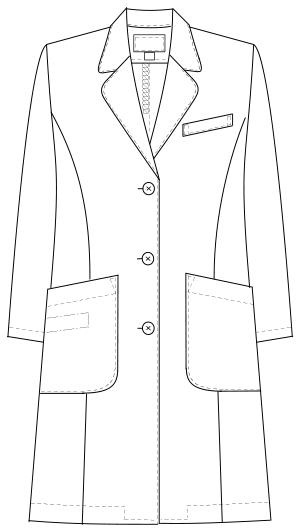 DK-3340 フロントスタイルイラスト