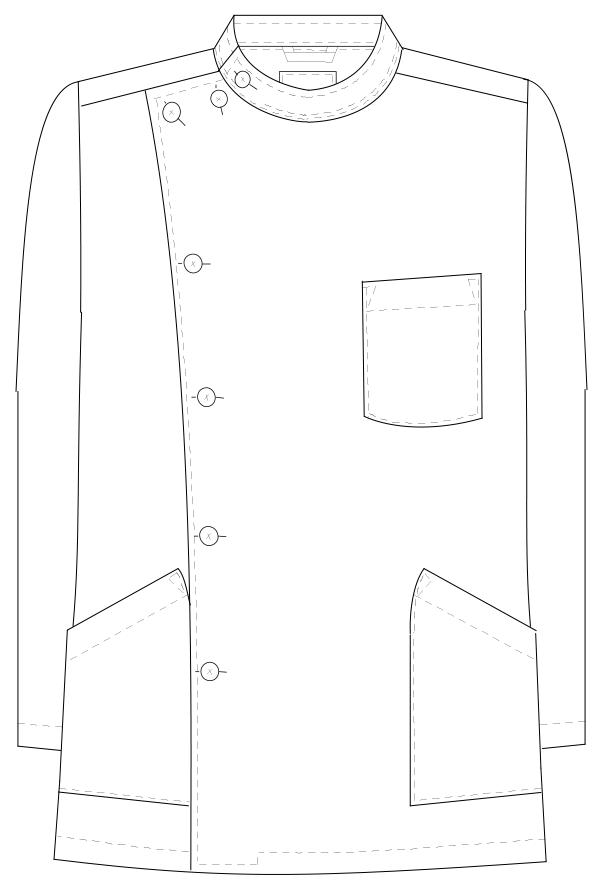 EP-165 フロントスタイルイラスト