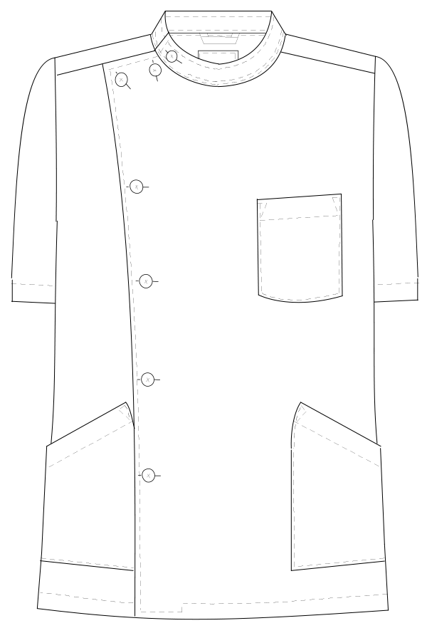 EP-167 フロントスタイルイラスト