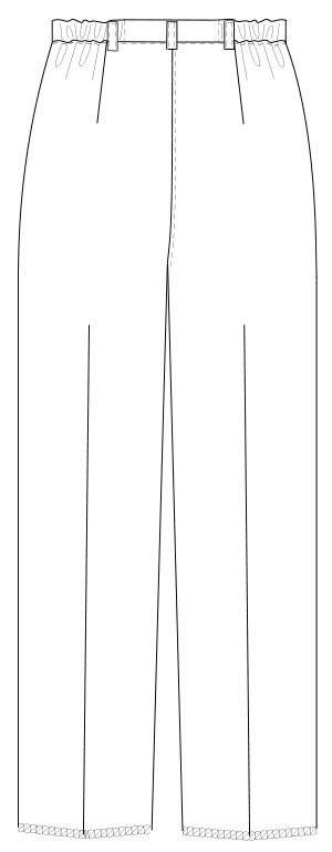 FE-4503 バックスタイルイラスト