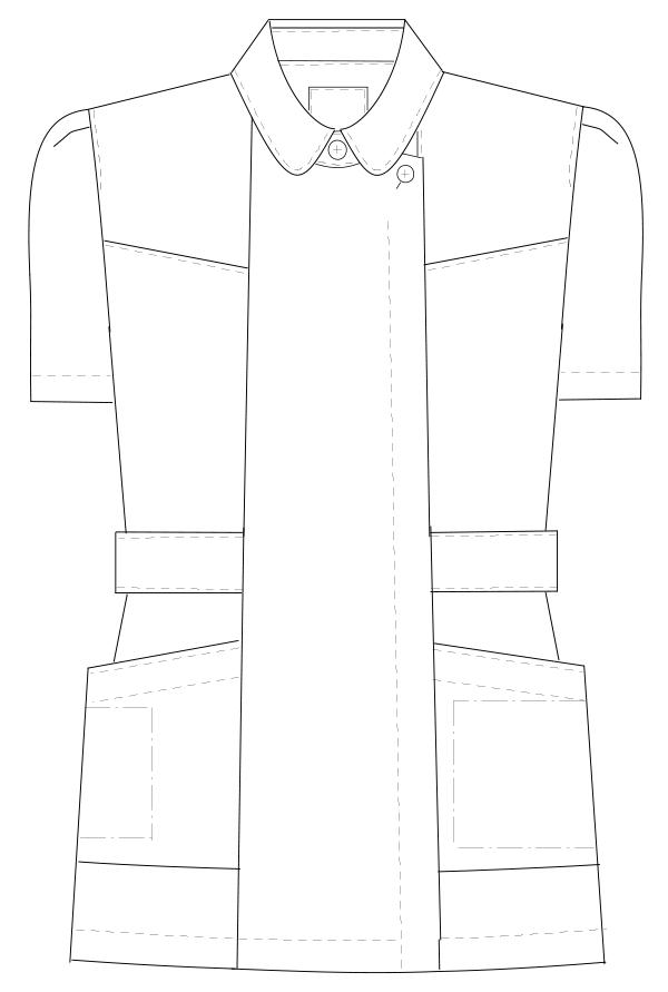 FE-4512 フロントスタイルイラスト