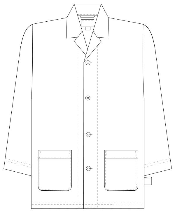FG-1516 フロントスタイルイラスト