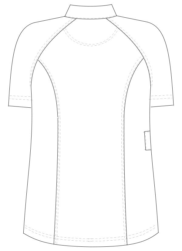 FH-2377 バックスタイルイラスト