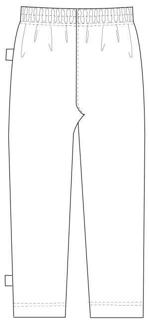 FK-1468 バックスタイルイラスト