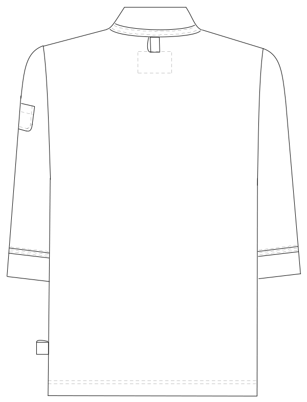 FK-1481 バックスタイルイラスト