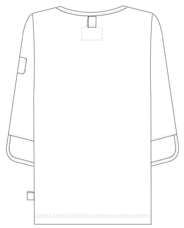 FK-1486 バックスタイルイラスト