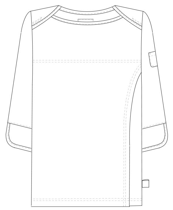 FK-1486 フロントスタイルイラスト
