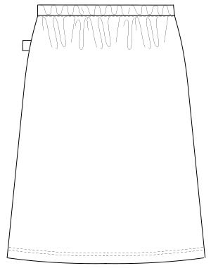 FK-1488 バックスタイルイラスト