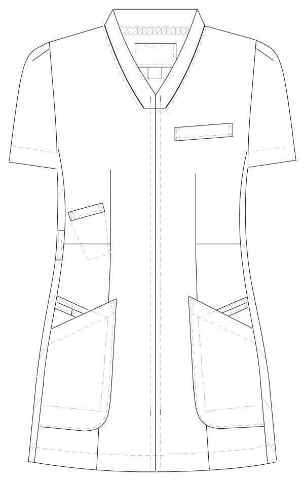 FT-4442 フロントスタイルイラスト