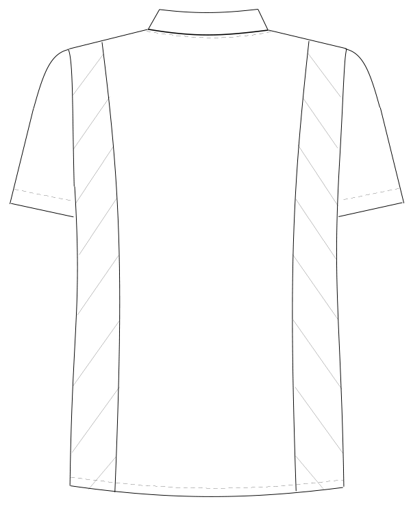 FT-4497 バックスタイルイラスト