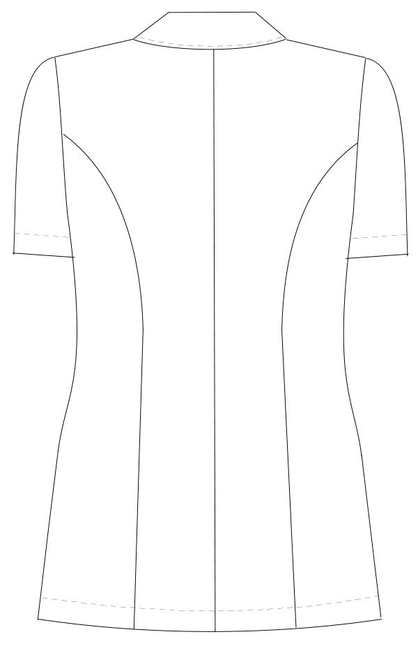 FY-4582 バックスタイルイラスト