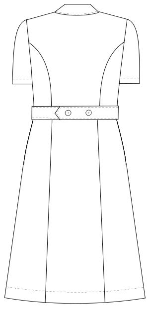 FY-4587 バックスタイルイラスト