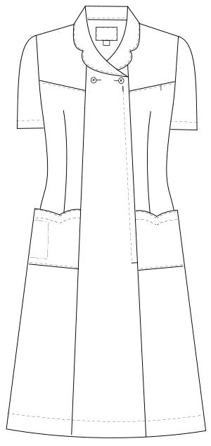 FY-4587 フロントスタイルイラスト