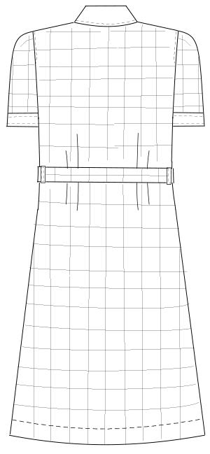 GC-2207 バックスタイルイラスト