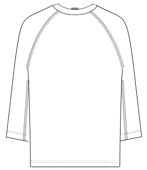 GJ-1581 バックスタイルイラスト