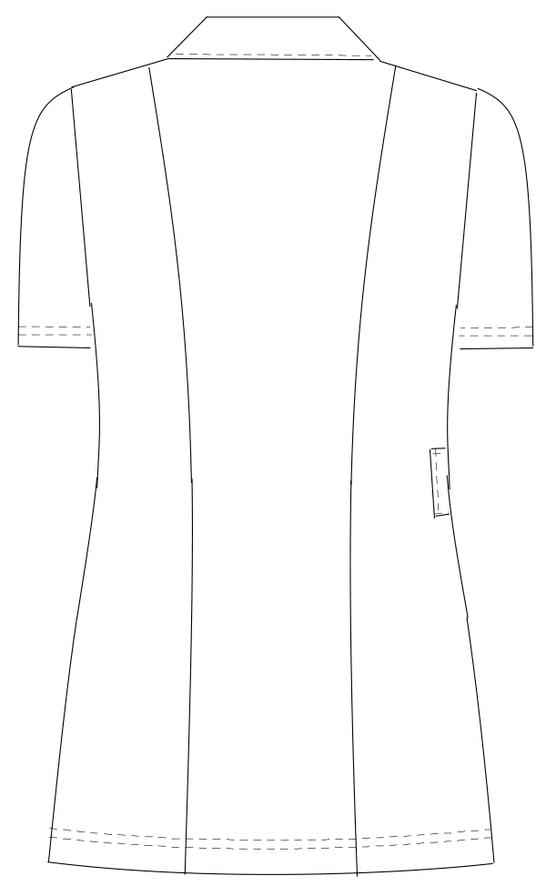 HE-1942 バックスタイルイラスト