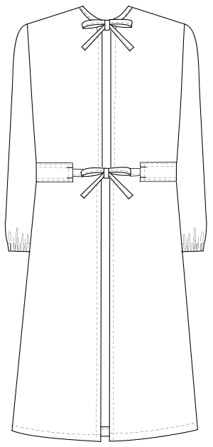HK-7 バックスタイルイラスト