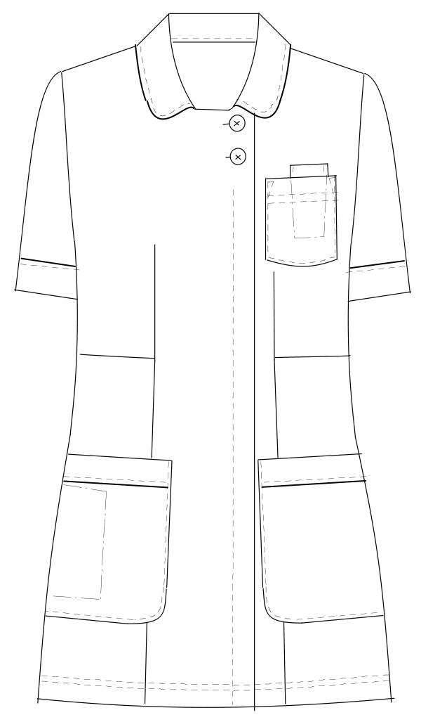 HO-1672 フロントスタイルイラスト