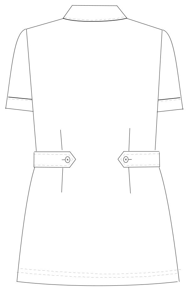 HO-1682 バックスタイルイラスト