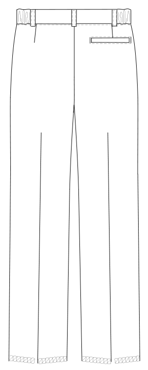 HO-1903 バックスタイルイラスト