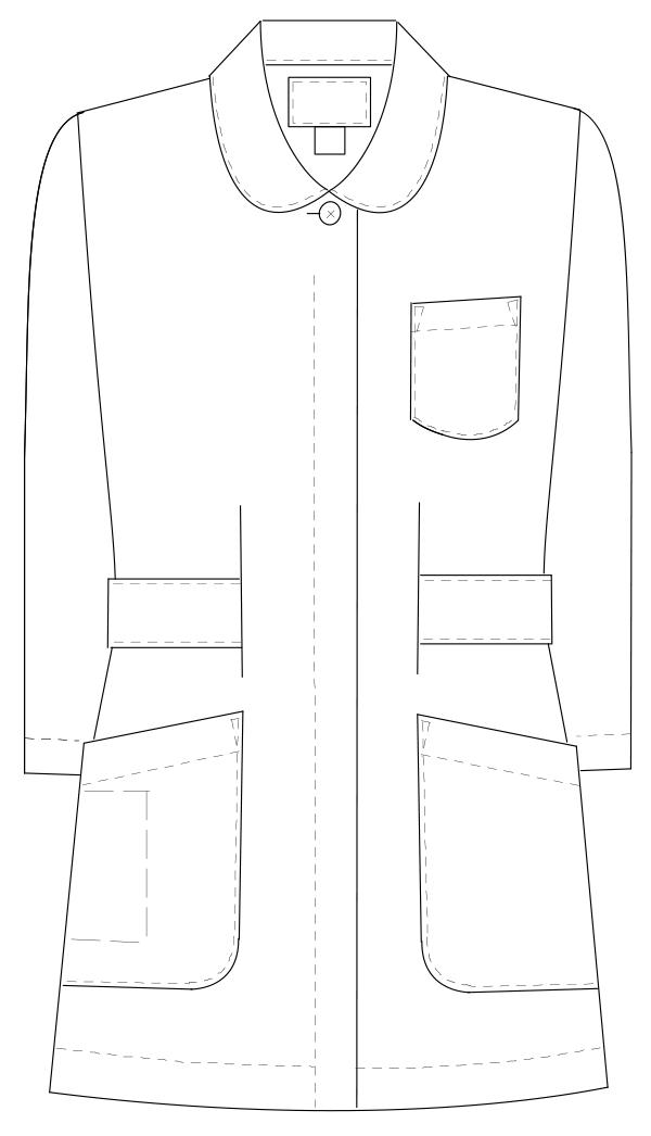 HO-1911 フロントスタイルイラスト