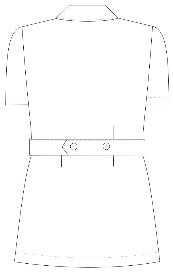 HO-1912 バックスタイルイラスト