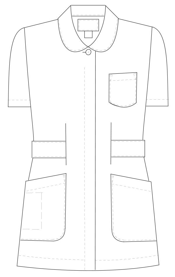 HO-1912 フロントスタイルイラスト