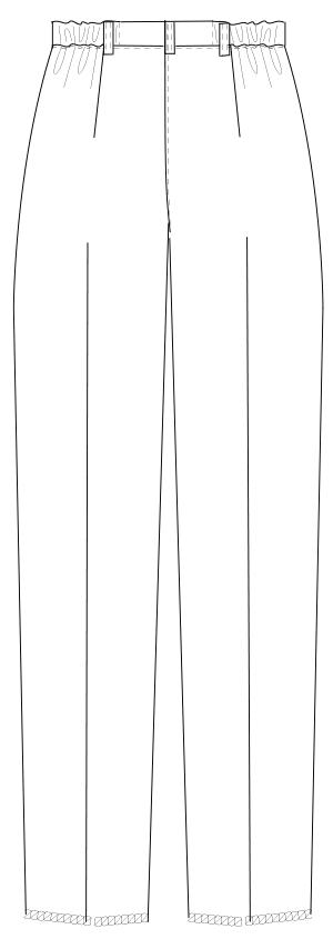 HO-1913 バックスタイルイラスト