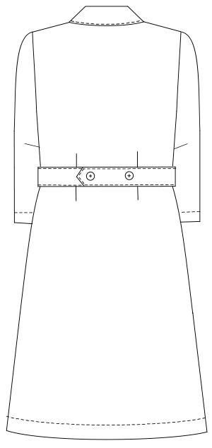 HO-1916 バックスタイルイラスト