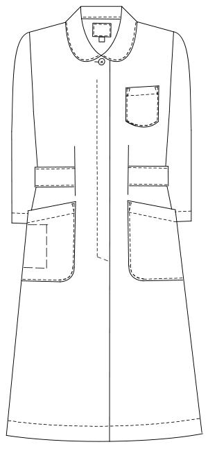 HO-1916 フロントスタイルイラスト
