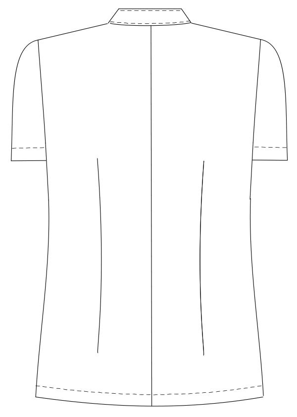 HO-1982 バックスタイルイラスト