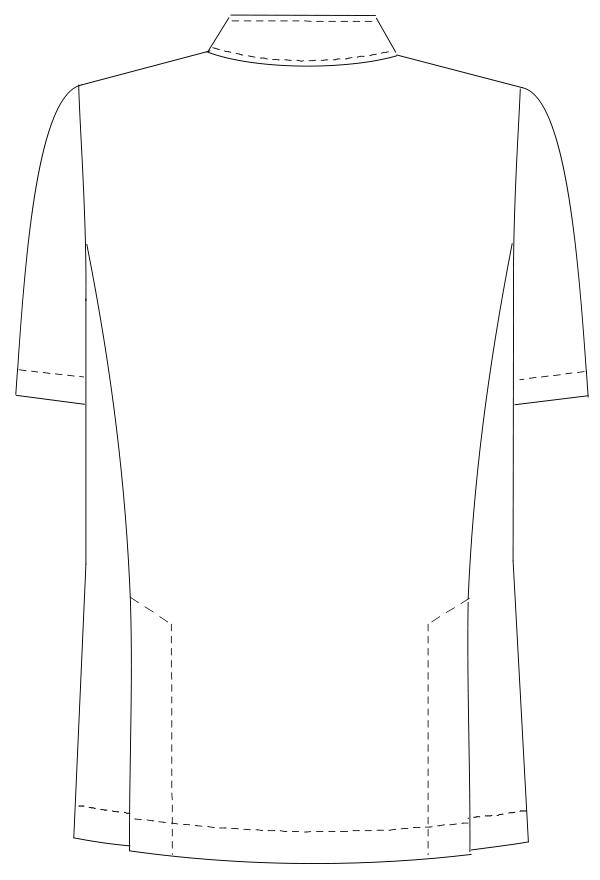 HO-1987 バックスタイルイラスト