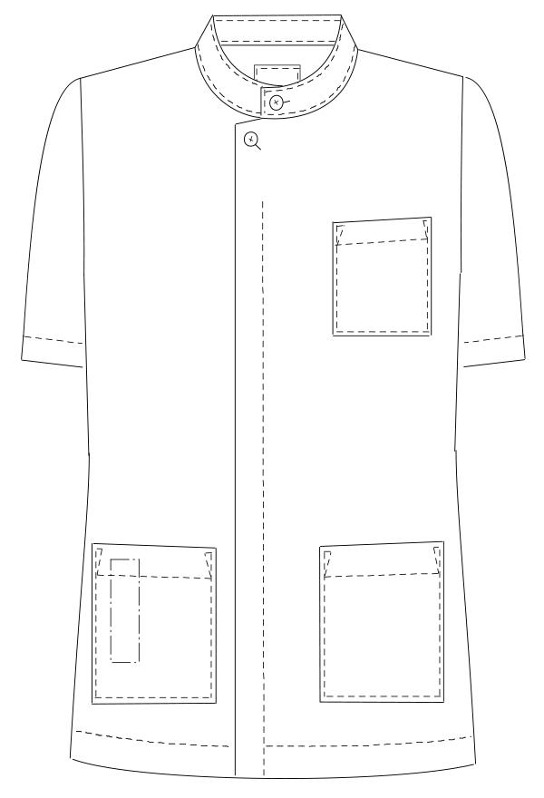 HO-1987 フロントスタイルイラスト