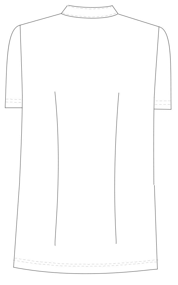 HO-4972 バックスタイルイラスト