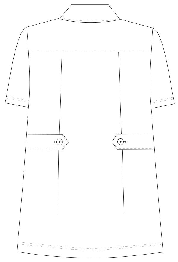 HO-1952 バックスタイルイラスト