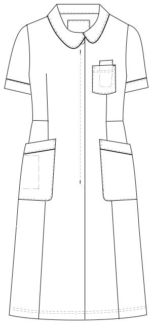 HOS-4907 フロントスタイルイラスト