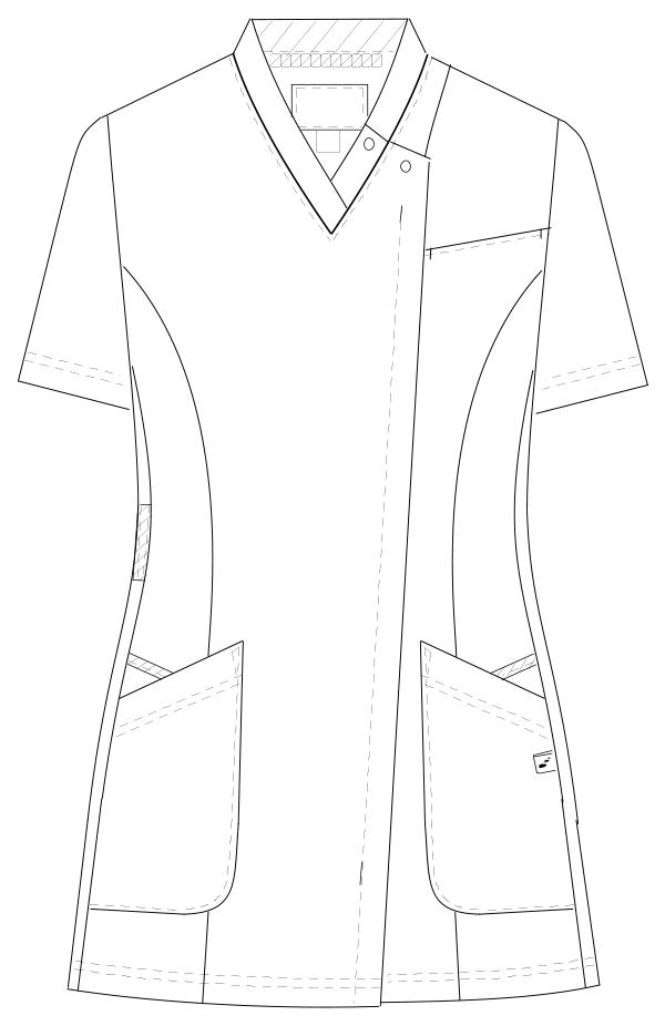 HOS-4952 フロントスタイルイラスト