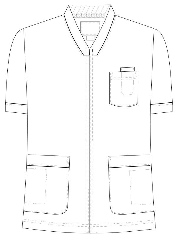 HOS-4977 フロントスタイルイラスト