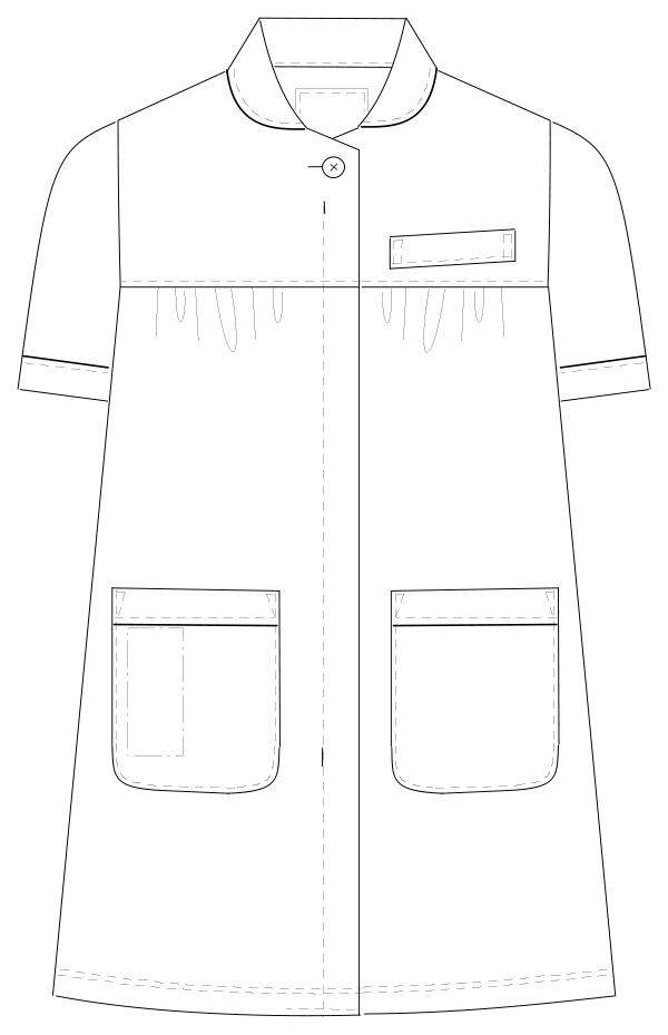 HOS-4992 フロントスタイルイラスト