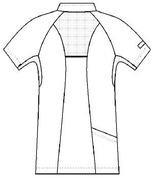 HOS-5352 バックスタイルイラスト