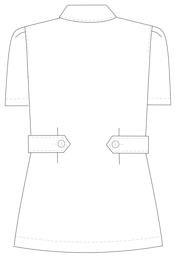 HS-932 バックスタイルイラスト