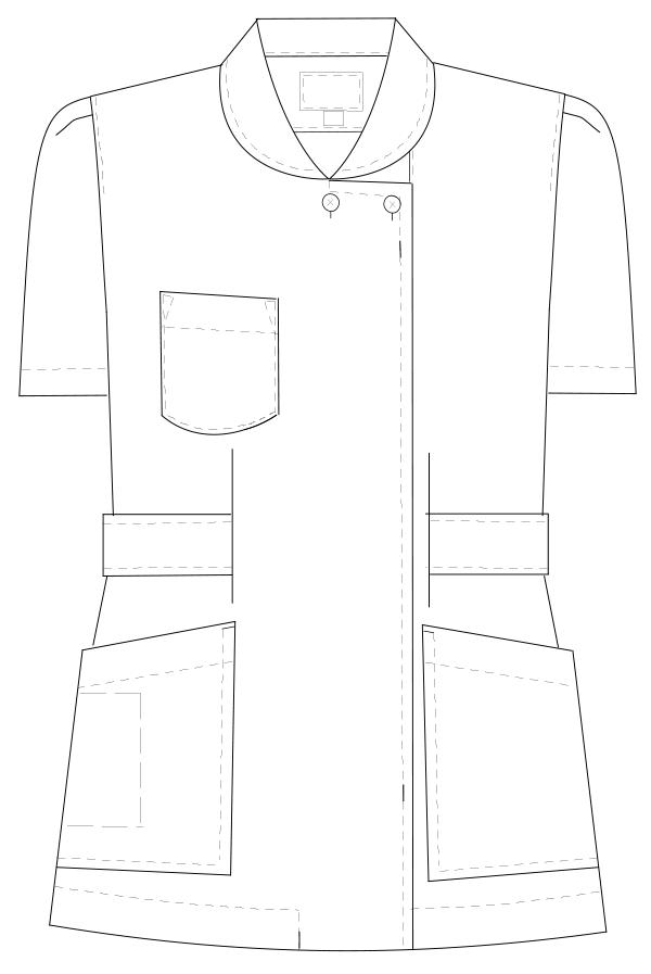 HS-932 フロントスタイルイラスト