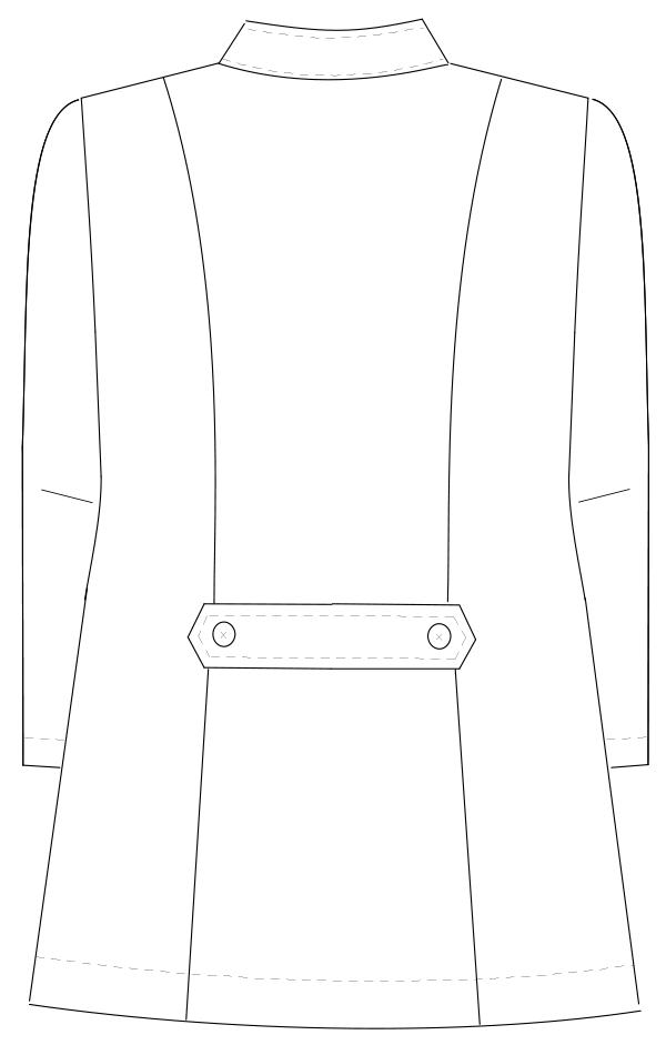HS-951 バックスタイルイラスト