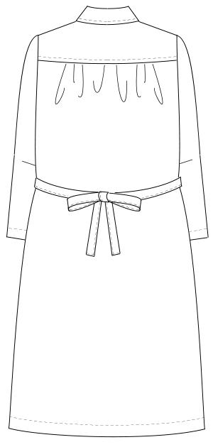 HS-986 バックスタイルイラスト