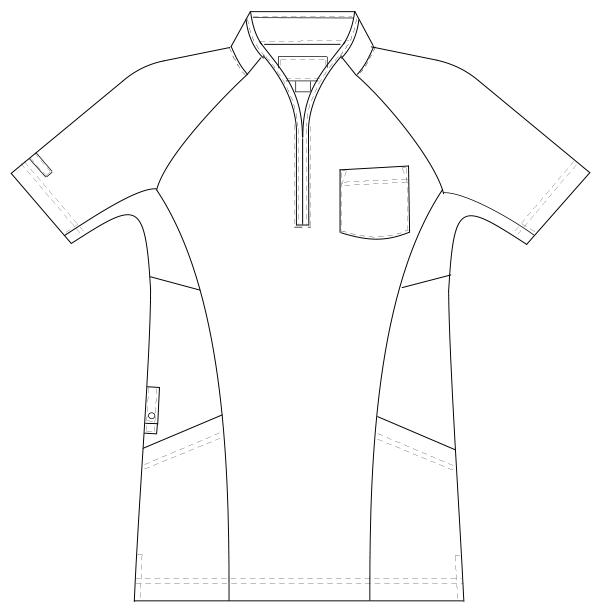 JM-3177 フロントスタイルイラスト