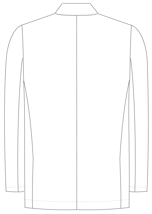 KES-5160 バックスタイルイラスト