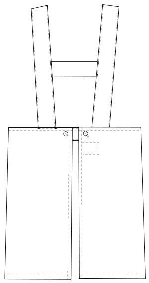 KEX-1100 バックスタイルイラスト